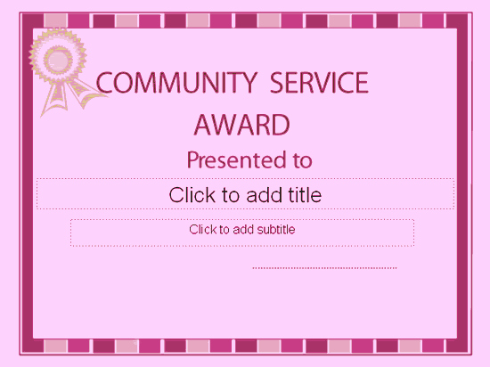 Community Service Certificate Template Free Awesome Munity Interests Interests Interests Religious