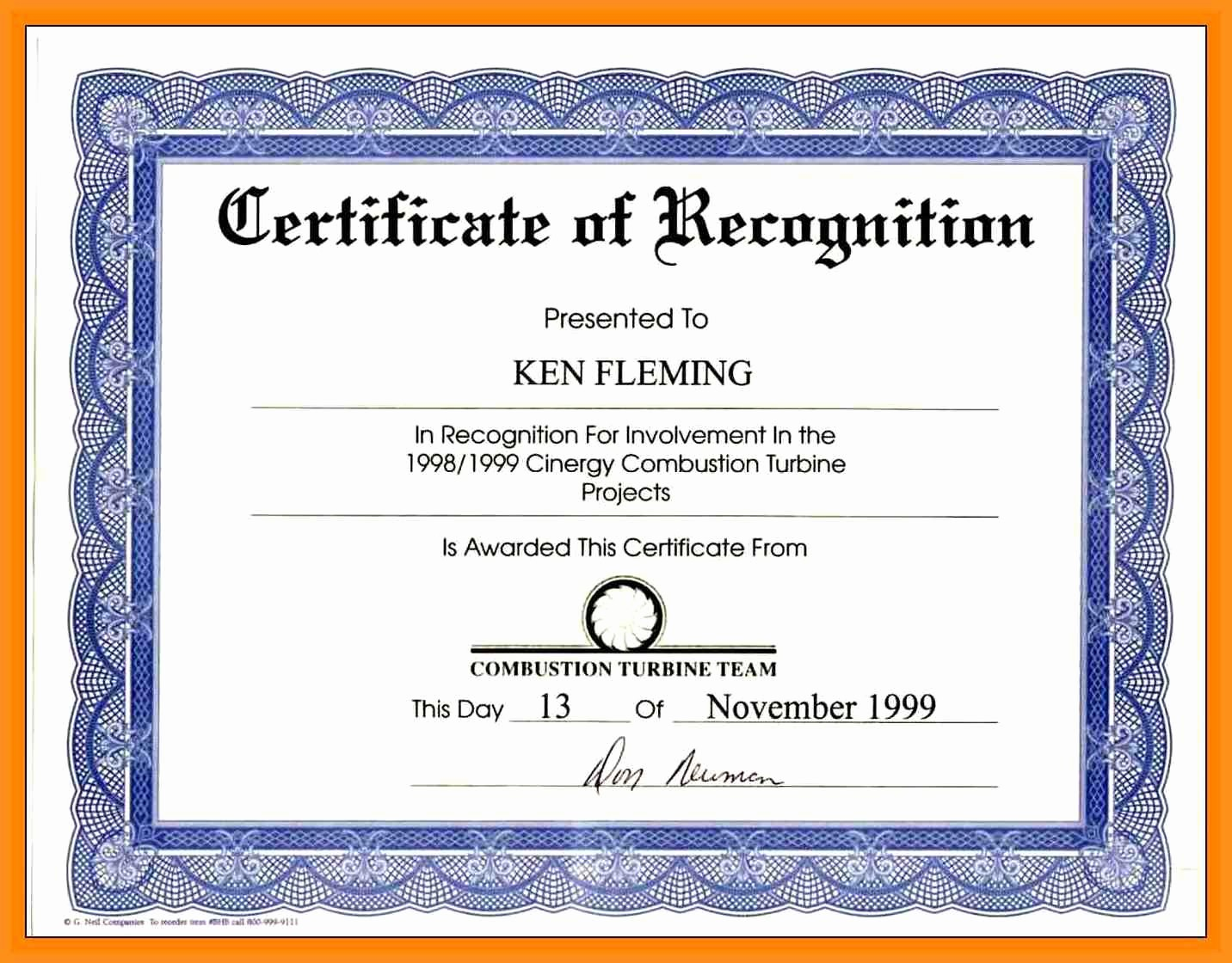 Community Service Certificate Template Free Awesome Munity Service Award Wording