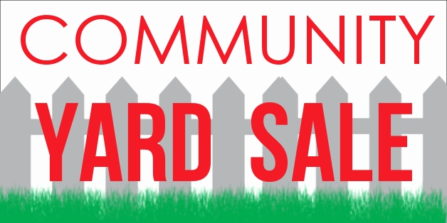 Community Yard Sale Sign Template Awesome Design Ideas Imprint