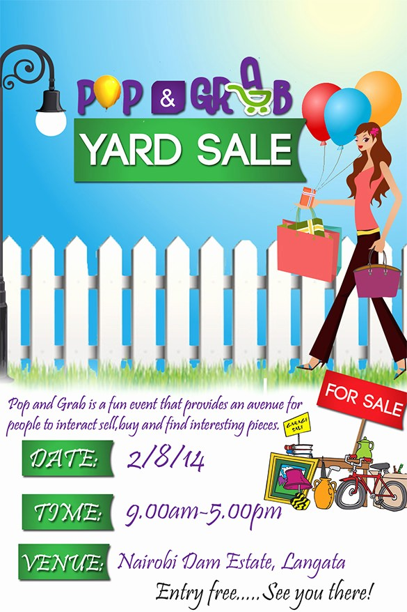 Community Yard Sale Sign Template Beautiful 21 Best Yard Sale Flyer Templates & Psd Word Eps