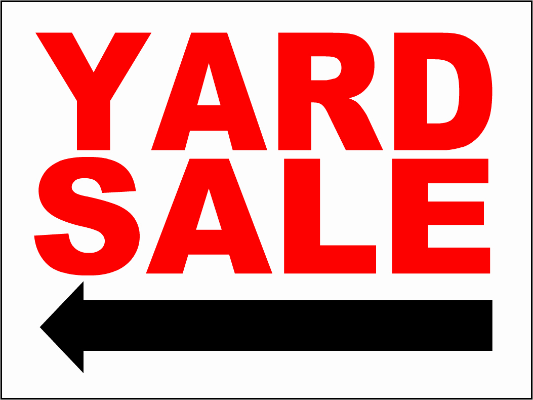 Community Yard Sale Sign Template Best Of the Gallery for Yard Sale Sign