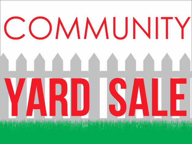 Community Yard Sale Sign Template Fresh Design Ideas 24hourwristbands