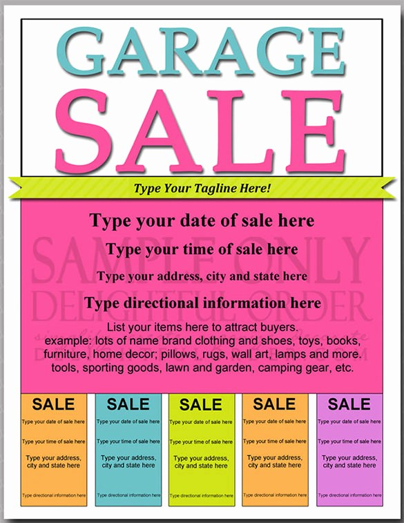 Community Yard Sale Sign Template New Pages Templates Garage Sale Flyer Smartrenotahoe