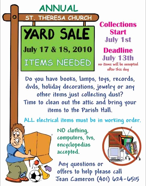 Community Yard Sale Sign Template Unique 15 Free Yard Sale Flyers Great Help Demplates