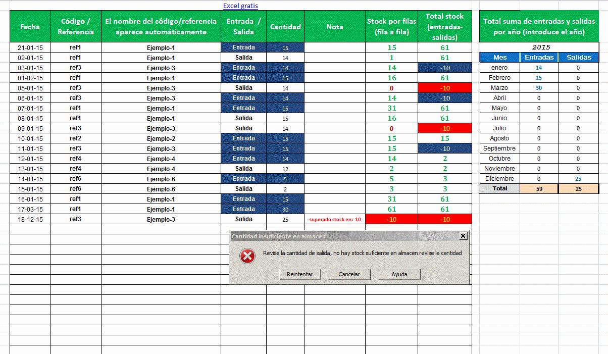 Como Hacer Inventario En Excel Beautiful Hoja De Excel Control Stock U Otros Datos