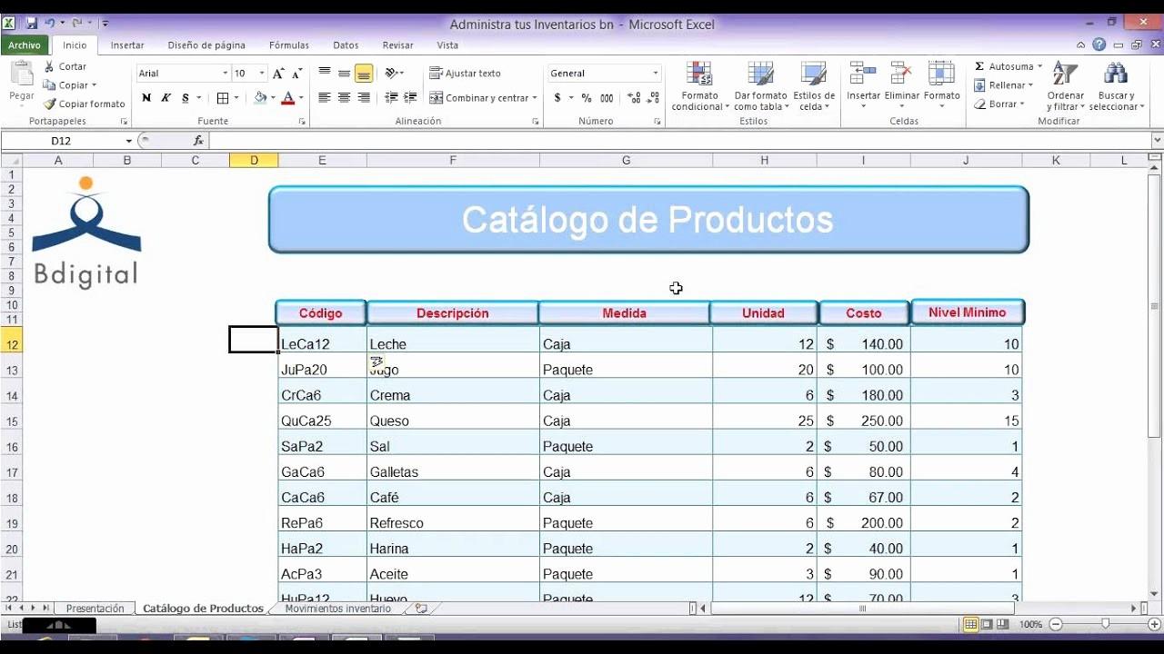 Como Hacer Inventario En Excel Best Of O Administro Los Inventarios En Excel