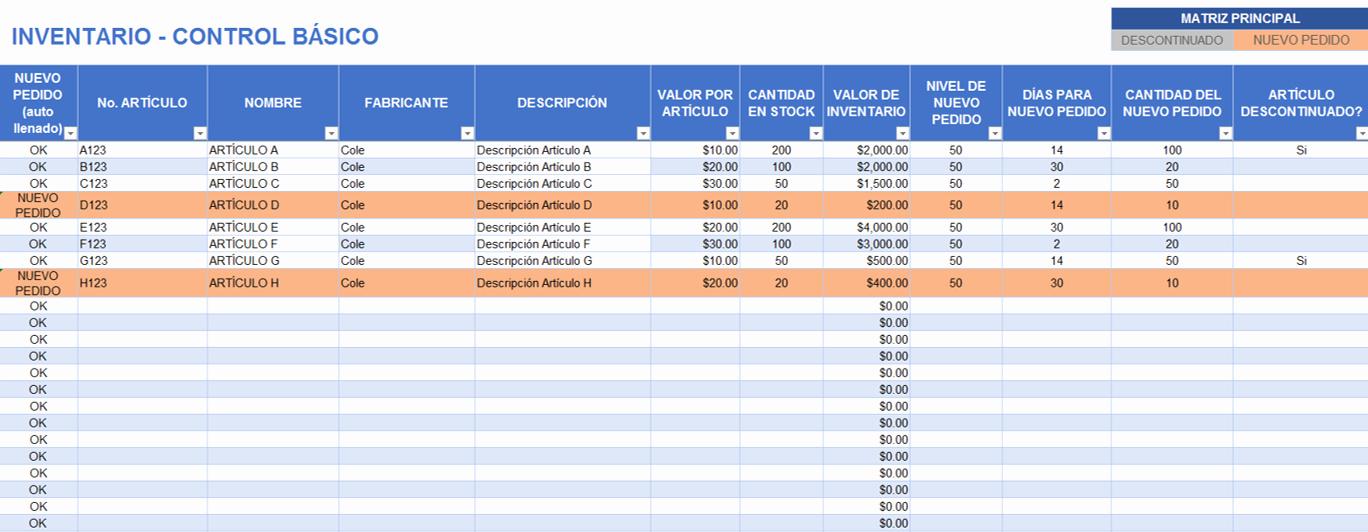 Como Hacer Inventario En Excel Elegant Plantillas Gratis De Inventario En Excel Smartsheet