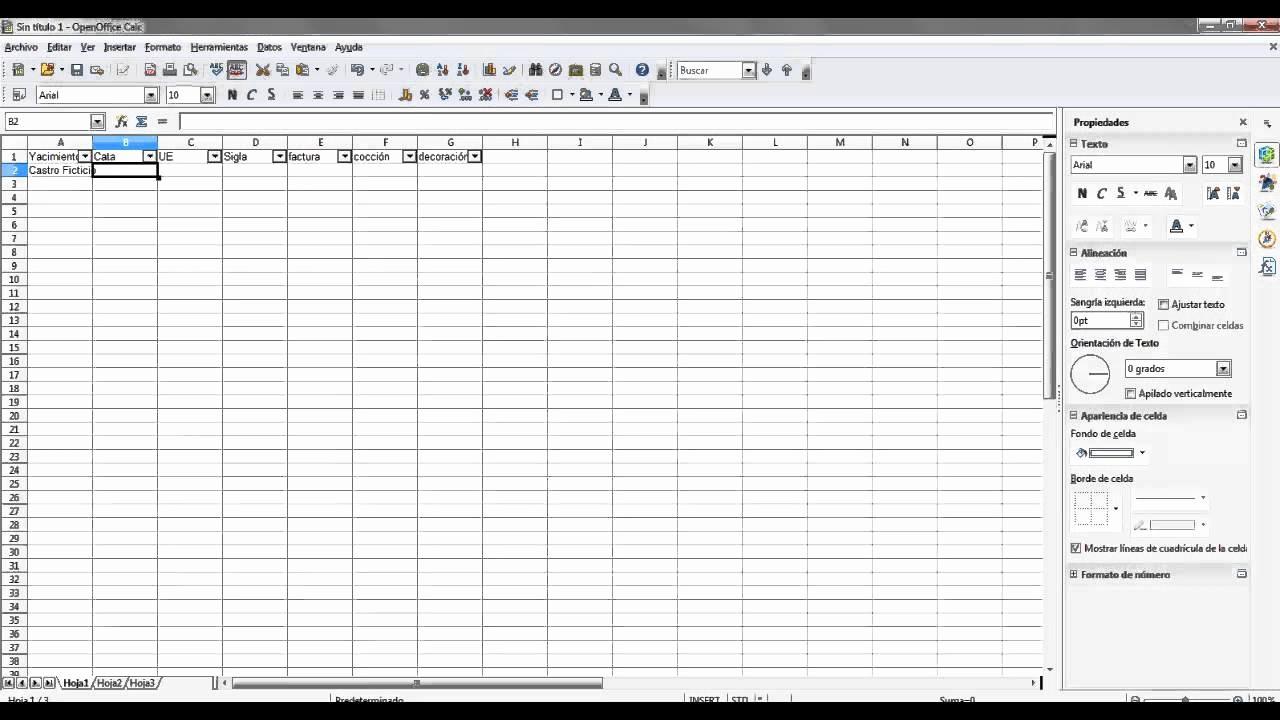 Como Hacer Inventario En Excel Luxury Tutorial Para Crear Una Ficha De Inventario Arqueológico
