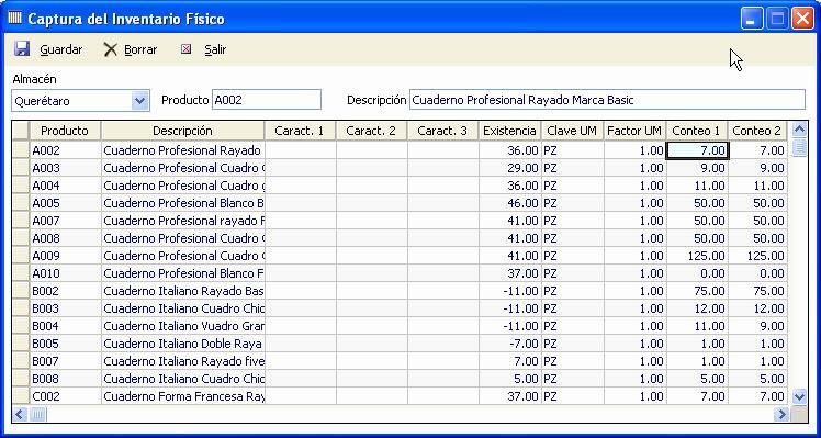 Como Hacer Inventario En Excel New Captura De Inventario Fsico