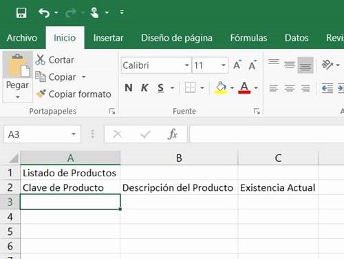 Como Hacer Inventario En Excel New O Crear Un Control De Inventario En Excel En 5