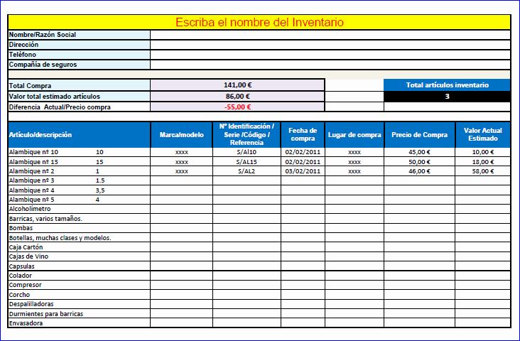 Como Hacer Inventario En Excel Unique Infotecno10 3