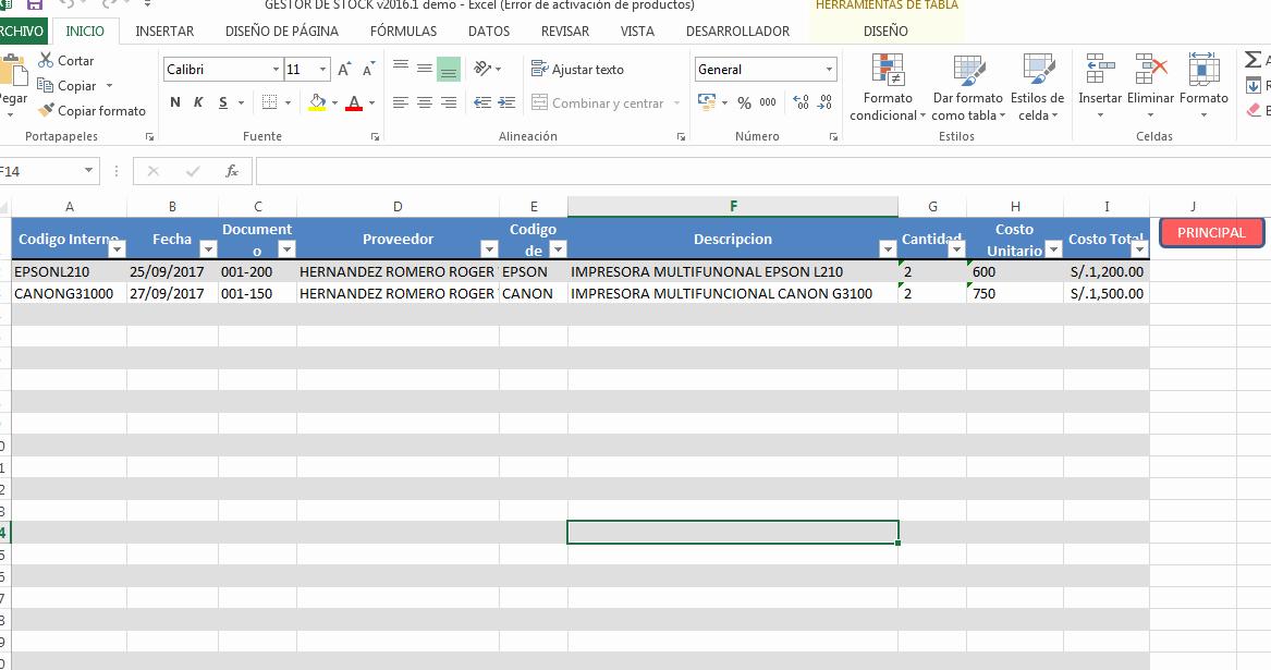 Como Hacer Inventario En Excel Unique Macro Control De Inventarios En Excel Gratis