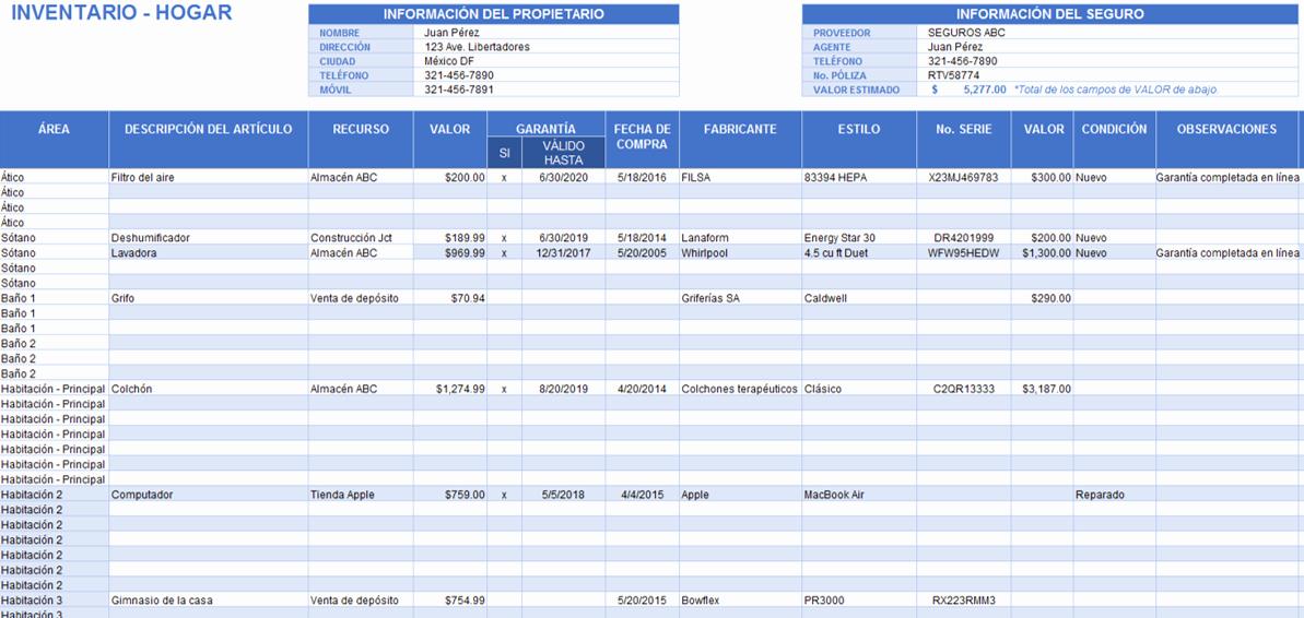Como Hacer Inventario En Excel Unique Plantillas Gratis De Inventario En Excel Smartsheet