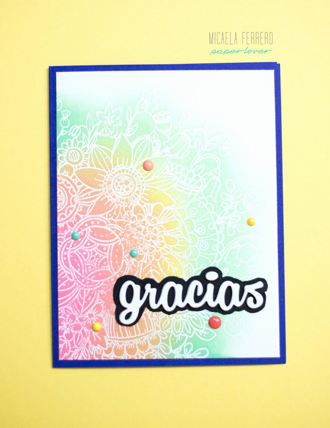 Como Hacer Tarjetas De Agradecimiento Fresh Cardmaking Y Art Journal Micaela Ferrero