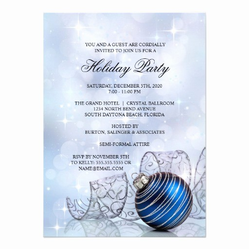"Company Christmas Party Invite Template Beautiful Corporate Holiday Party Invitation Templates 4 5"" X 6 25"