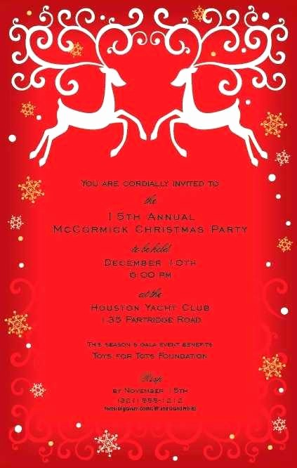 Company Christmas Party Invite Template Beautiful Wonderful Holiday Party Wording for Pany Invite Fice
