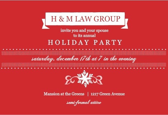 Company Christmas Party Invite Template Best Of Corporate Christmas Party Invitation Templates