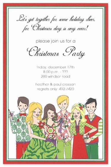 Company Christmas Party Invite Template Elegant Pany Holiday Party Invitations