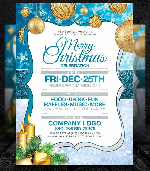 Company Christmas Party Invite Template Inspirational 7 Business Party Invitations Designs Templates