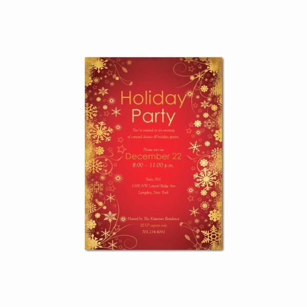 Company Christmas Party Invite Template Luxury top 10 Christmas Party Invitations Templates Designs for