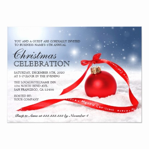 Company Christmas Party Invite Template Luxury top 50 Fice Holiday Party Invitations 2015