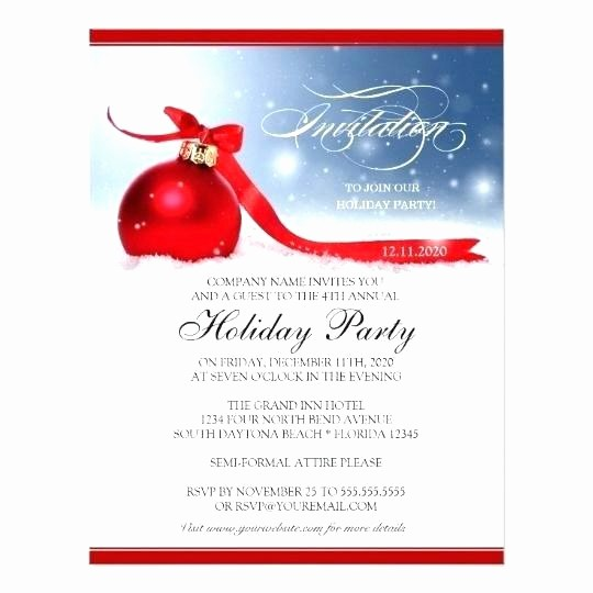Company Christmas Party Invite Template Unique Pany Party Invitation – Ralphlaurens Outlet