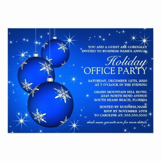 Company Holiday Party Invitation Template Awesome Holiday Party Invitation Template