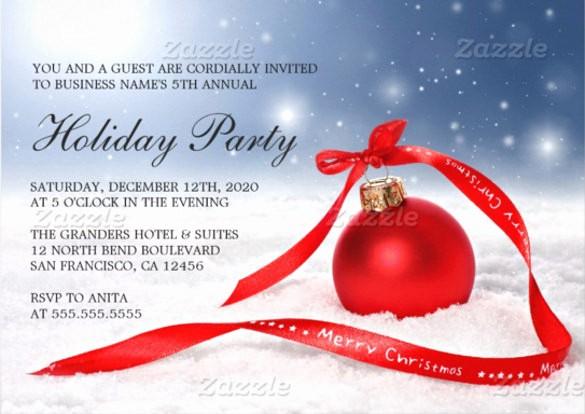 Company Holiday Party Invitation Template Beautiful 29 Business Invitation Templates Psd Vector Eps Ai
