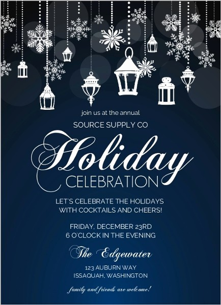 Company Holiday Party Invitation Template Best Of Fice Holiday Party Invitation Wording Ideas From Purpletrail