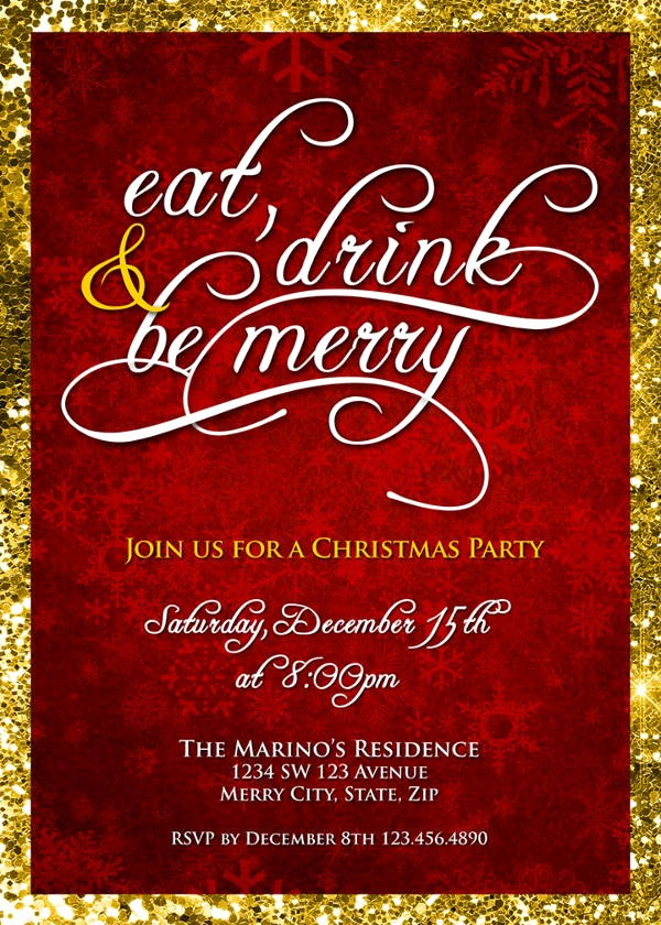 Company Holiday Party Invitation Template Lovely 6 Holiday Lunch Invitations Jpg Vector Eps Ai