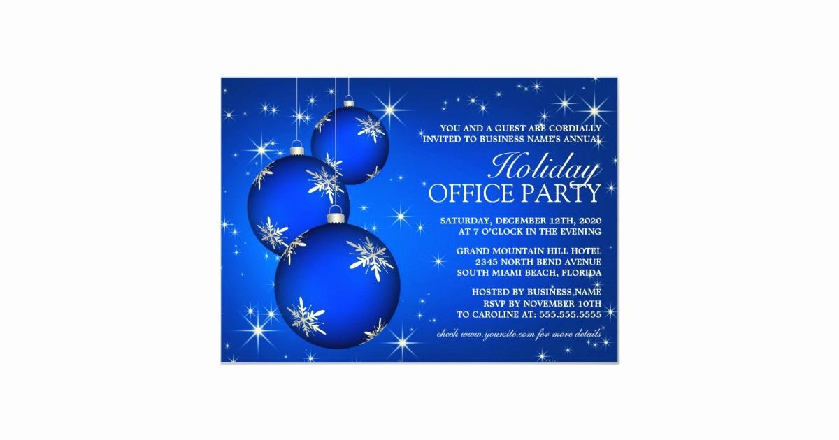 Company Holiday Party Invitation Template Lovely Corporate Holiday Party Invitation Template