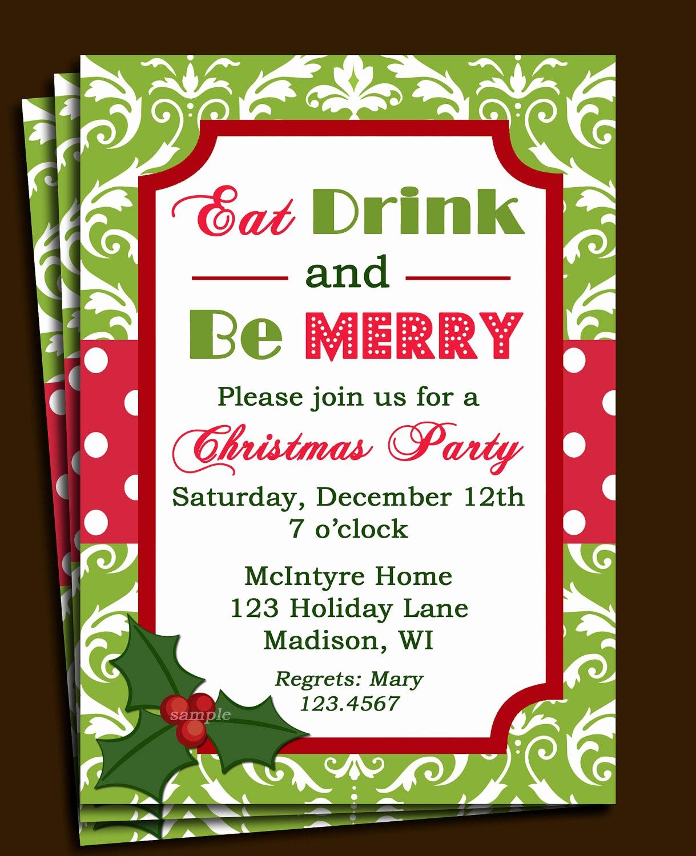 Company Holiday Party Invitation Template Lovely Pany Holiday Party Invitation Templates