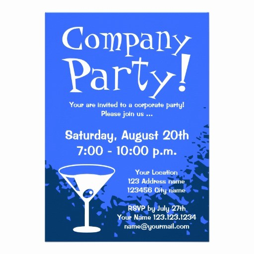 Company Holiday Party Invitation Template New 15 Party Invitations Excel Pdf formats