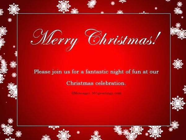 Company Holiday Party Invitation Template New Corporate Christmas Party Invitation Wording Samples
