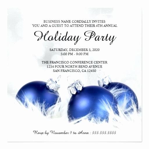 Company Holiday Party Invitation Template Unique Corporate and Holiday Party Invitations Invitation
