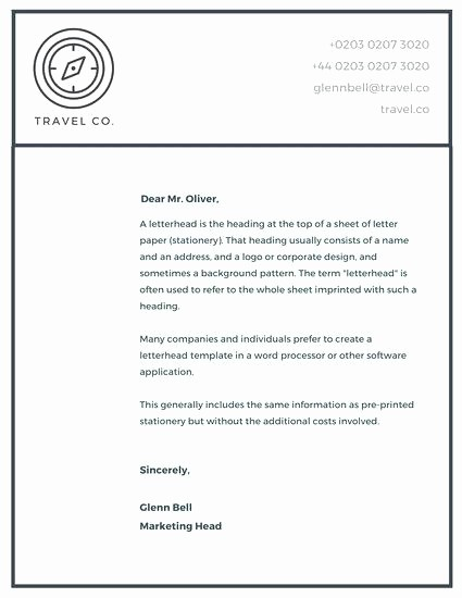 Company Letterhead Template Word 2007 Awesome Free Letterhead Designs Pany Template Premium and