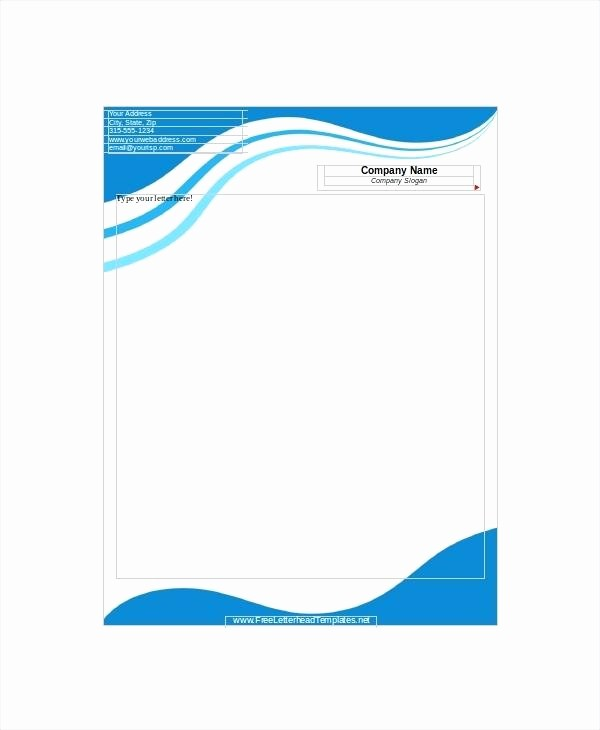 Company Letterhead Template Word 2007 Beautiful Letterhead format In Word 2007 for Chartered Accountants