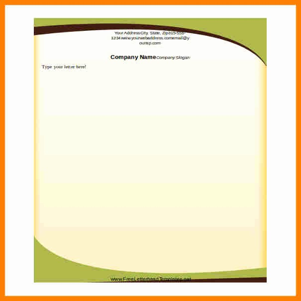 Company Letterhead Template Word 2007 Inspirational 10 Letterhead Templates Word 2010