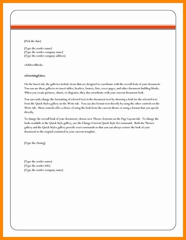 Company Letterhead Template Word 2007 Luxury 100 10 Best Letterhead Templates Word 2007 format
