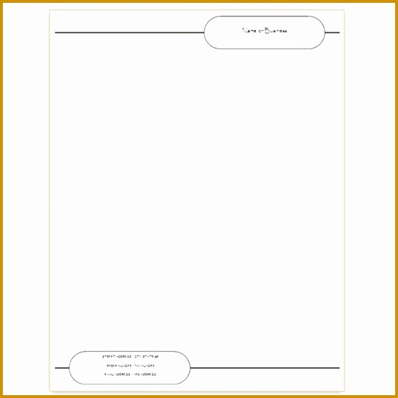 Company Letterhead Template Word 2007 New 4 Letterhead format In Word 2007 Free Download
