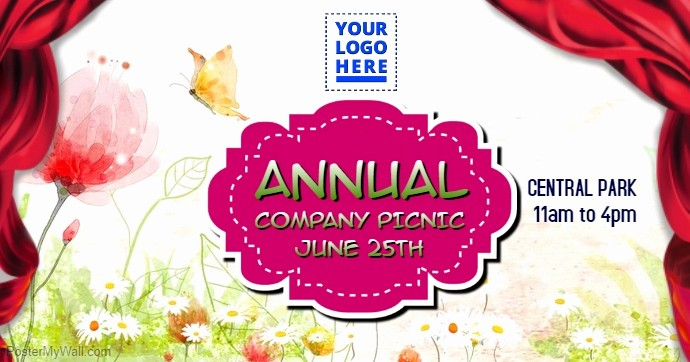Company Picnic Flyer Template Free Beautiful Annual Pany Picnic Template