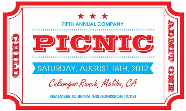 Company Picnic Flyer Template Free Best Of 15 Picnic Invitations