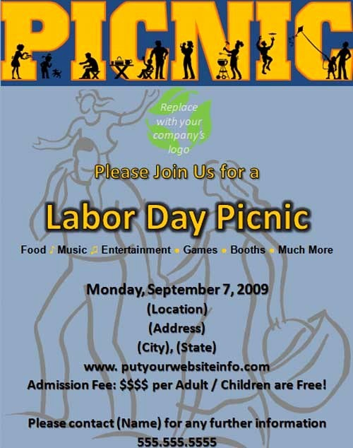 Company Picnic Flyer Template Free Luxury 15 Free Picnic Flyer Templates Demplates