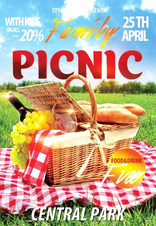 Company Picnic Flyer Template Free New Family Picknic Free Flyer Template