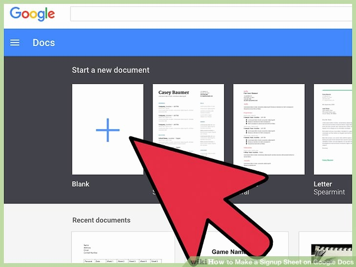 Concert Program Template Google Docs Awesome How to Make A Signup Sheet On Google Docs with
