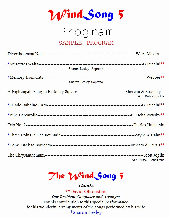 Concert Program Template Google Docs Unique event Program Template Google Docs Archives 2019