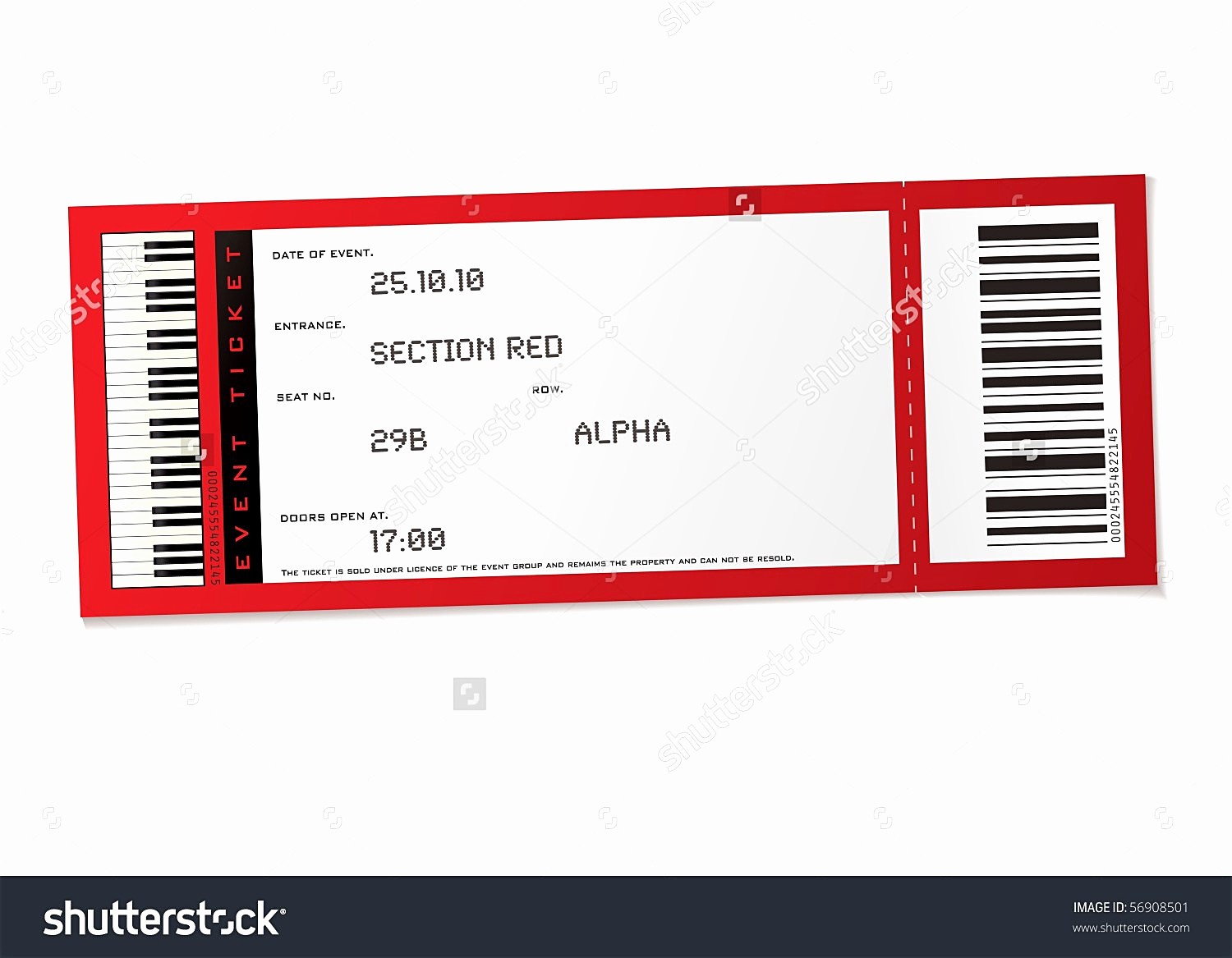 Concert Tickets Template Free Download Beautiful event Ticket Template Example Mughals