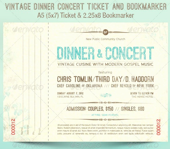 Concert Tickets Template Free Download New 115 Ticket Templates Word Excel Pdf Psd Eps
