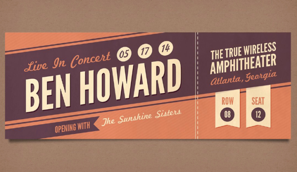 Concert Tickets Template Free Download New 28 Free Ticket Templates & Psd Mockups Xdesigns