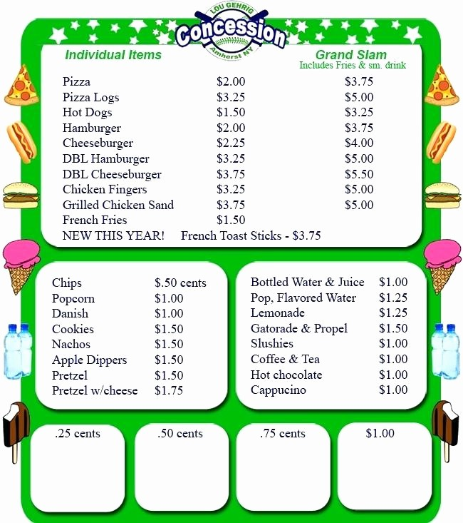 Concession Stand Sign Up Sheet Awesome Baseball Snack Schedule Template – Bestuniversitiesfo